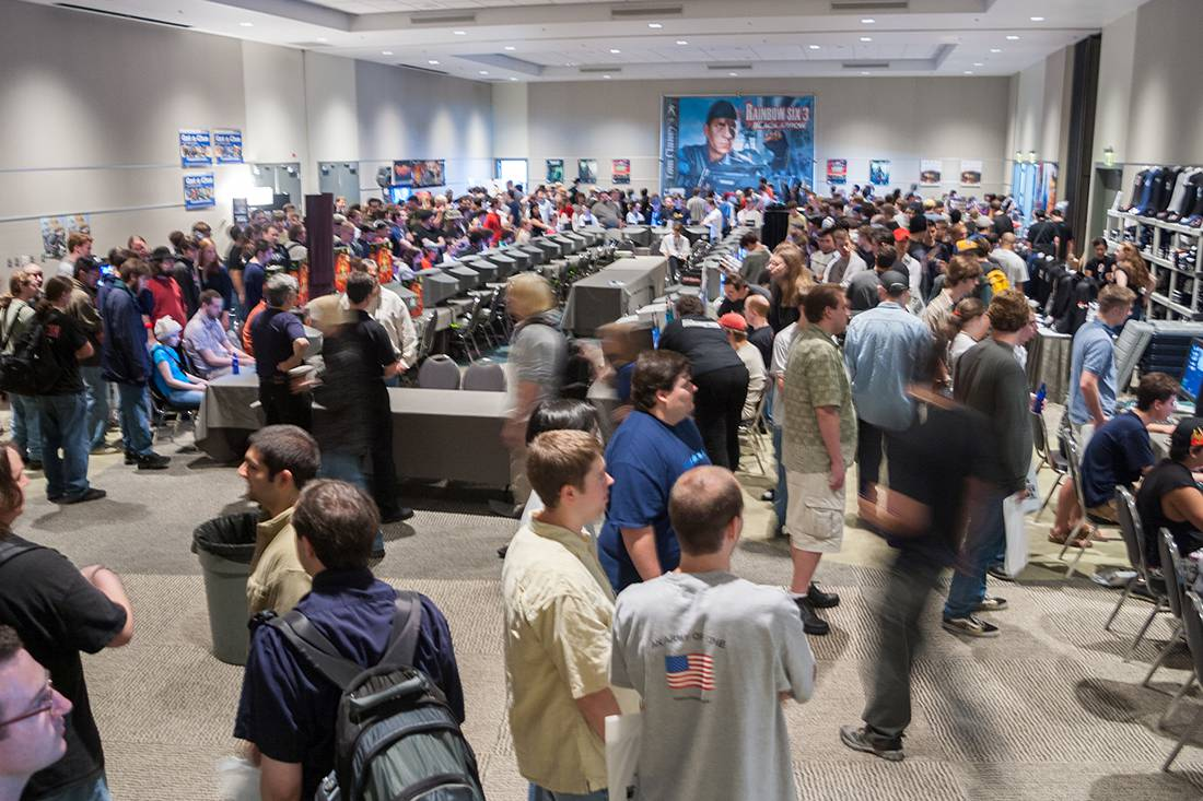 Expo Hall at the first PAX